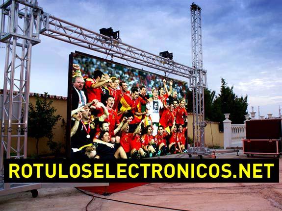 Alquiler de pantallas led gigantes para eventos y deportes