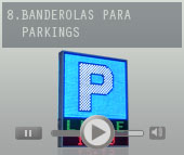 Proyectos de luminosos para parking