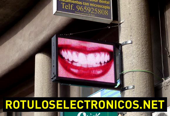 Carteles luminosos publicitarios con pantalla de vídeo LED