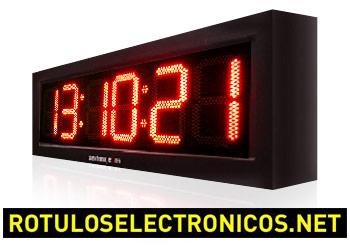 Cronómetro de leds para carreras modelo