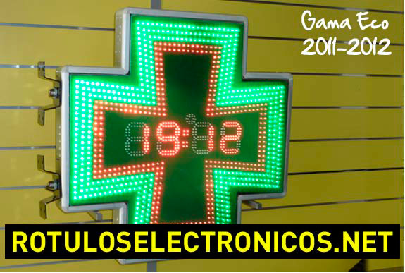 Cruces de farmacia luminosas economicas