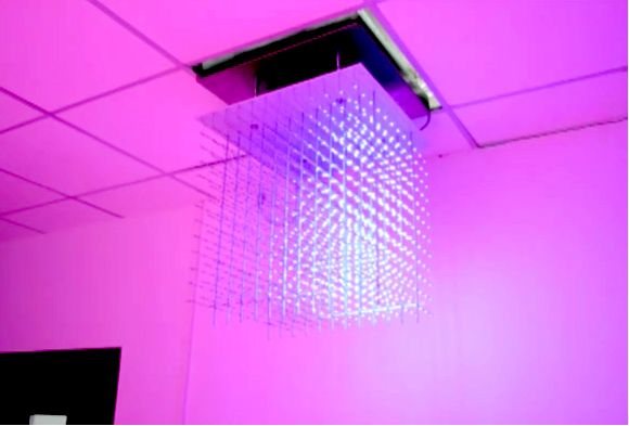 Cubos de led 3d