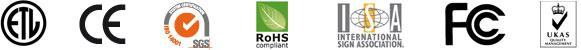 Algunos de los certificados de calidad con los que cuentan nuestros productos.