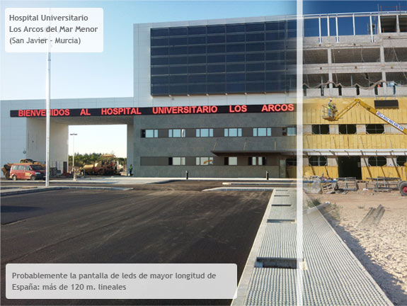 Hospital Los Arcos Lineal