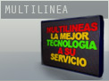 Cartel luminoso de leds multilinea