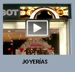 R�tulos comerciales de leds como reclamo visual para joyer�as.