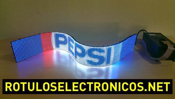 Letreros Led programables