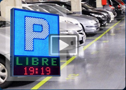 PANTALLAS LUMINOSAS DE LEDS PARA PARKING