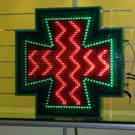 Cruces de farmacia de leds de alto brillo