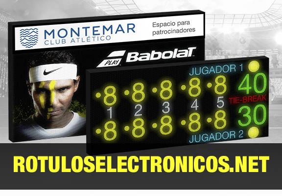 Marcadores Tenis ELECTRóNICOS