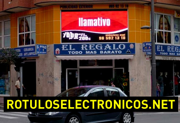 Pantallas de led gigantes con video real