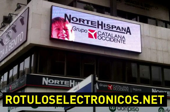 Pantallas led full color publicitarias