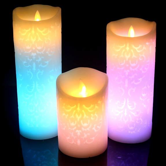 velas LED económicas
